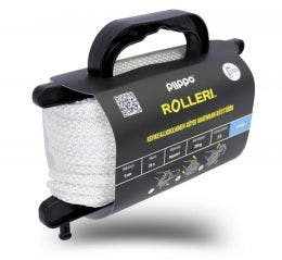 Rolleri polyesteri  6mm x 40m, valkea