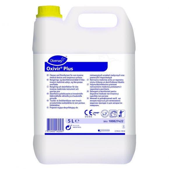 Oxivir Plus Flytande rengörings- och desinfektionsmedel 5l 100827422
