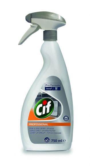 Cif Professional Ugn och Grill rengöringsmedel 0,75l 10112296