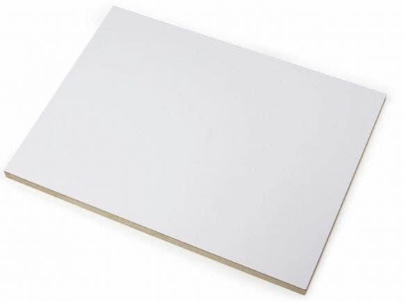 HDF valkoinen/raaka 101/0  OR O-LE 3x2070x2800