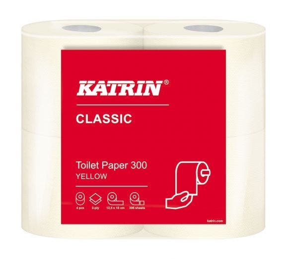 Katrin Toilet 300 yellow 104753