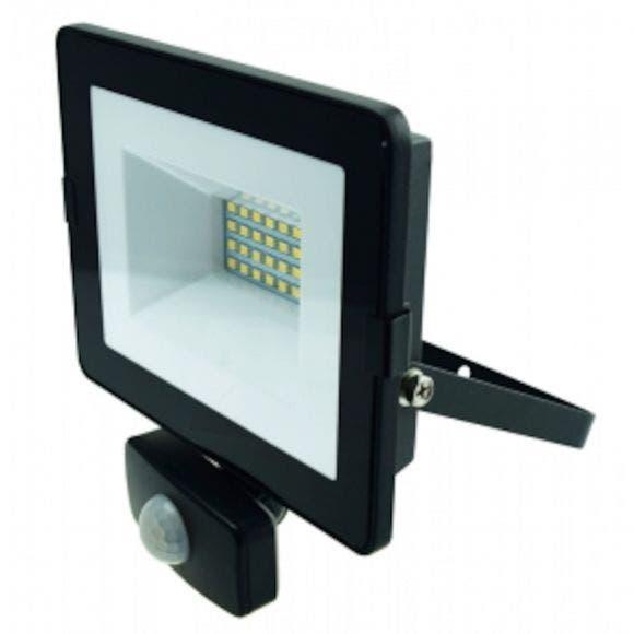 LED-HEITIN PIR 20 W 1600L PIR MUSTA