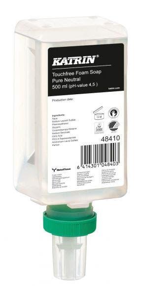 Katrin Touchfree Foam soap vaahtosaippua 500 ml Pure Neutral 48410