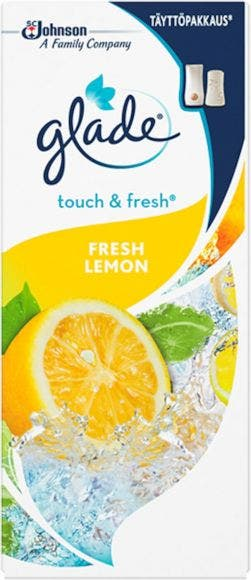 Glade Touch and Fresh Fresh Lemon citron luftfräschare refill 10ml
