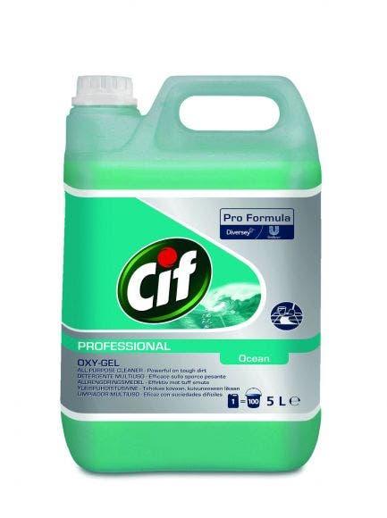 Cif Professional Oxy-Gel Yleispuhdistusaine 5l 7517870