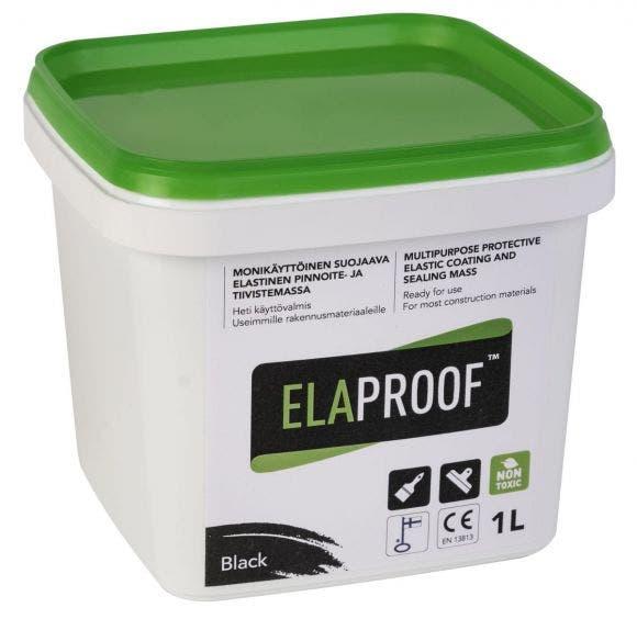 Elaproof H musta 1L